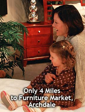 Stay in Archdale - Only 4 miles to the furniture market